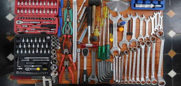 a mechanics collection of automotive tools