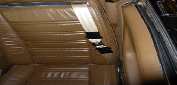 sash seat belt on a Corvette