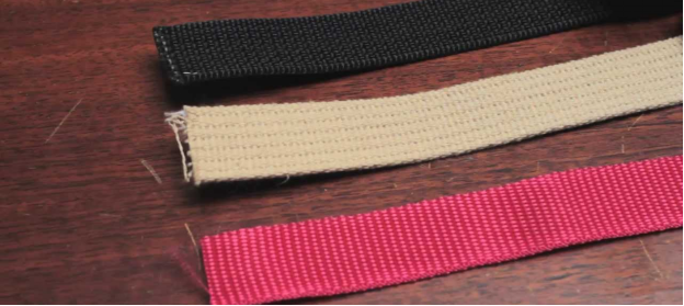 the seat webbing is the woven fabric part