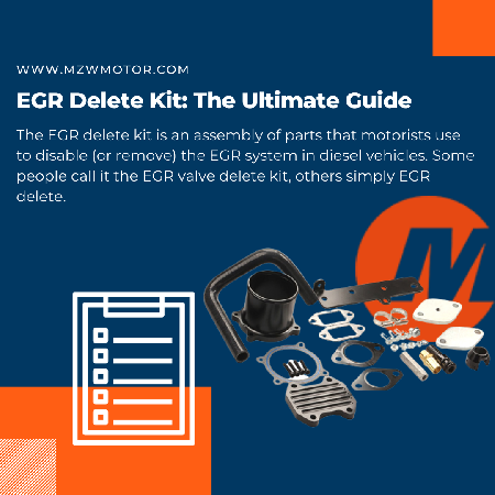 EGR Delete Kit: The Ultimate Guide of 2021