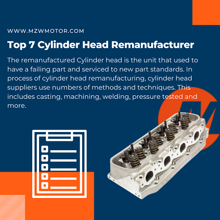Top 7 Cylinder Head Remanufacturers in 2021